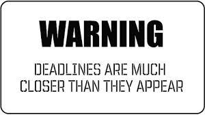 deadlines 3